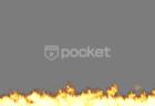 下から炎 モーショングラフィックス動画素材