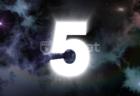 壮大な宇宙背景 5秒カウントダウン無料動画素材