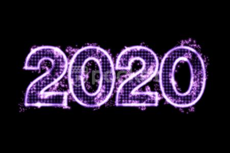 2020年用 デザインテキスト