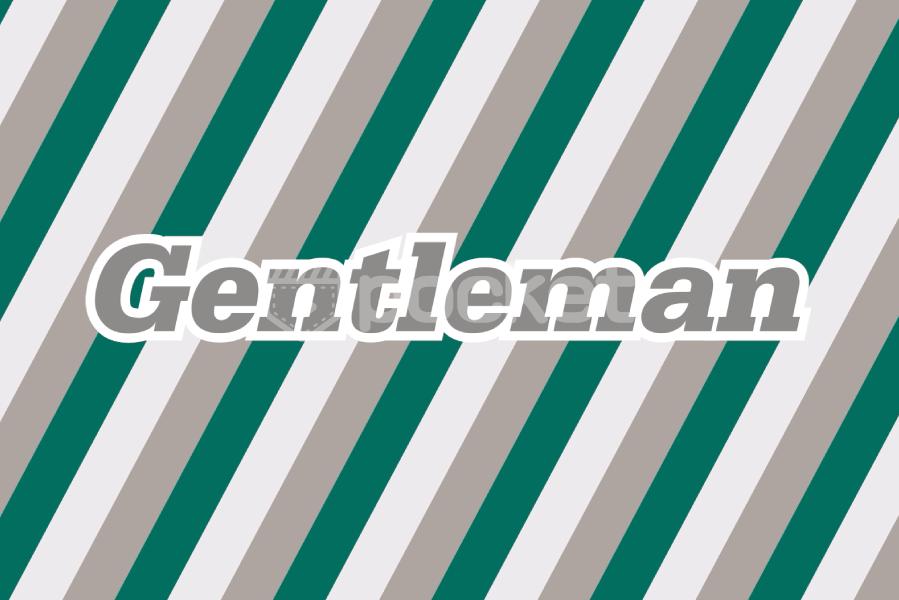 ジェントルマン ストライプ背景