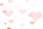 ハートアニメーション背景素材 バレンタインデーにもお薦め