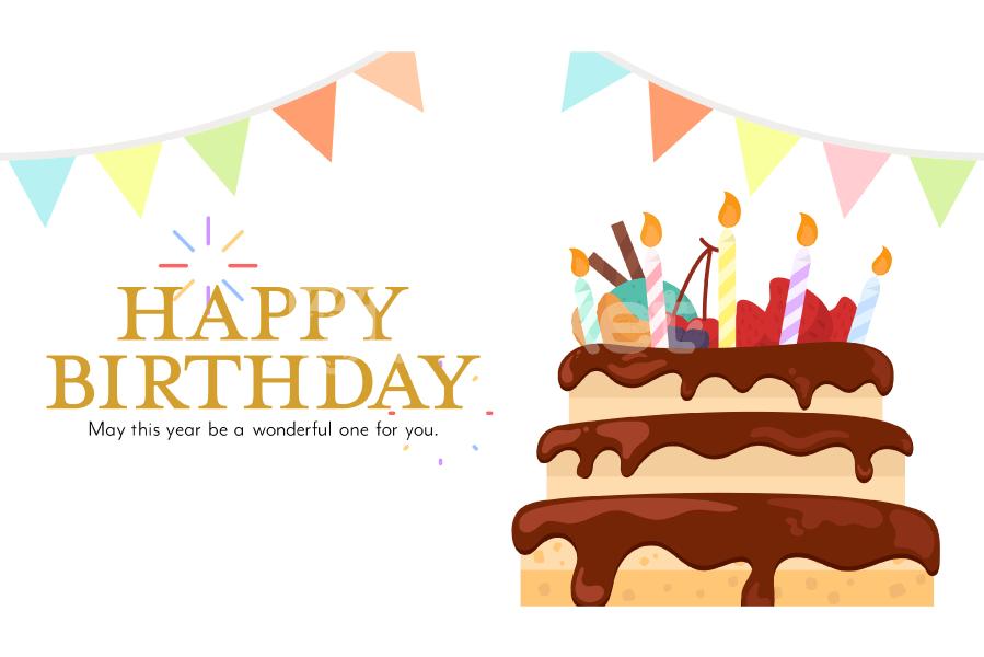 動画 HappyBirthdayカード 誕生日おめでとうソング
