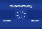YouTube終了画面テンプレート用背景素材ブルーのドット柄