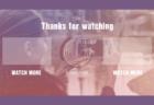 YouTube終了画面用 インスタ風の配色EDフリー素材