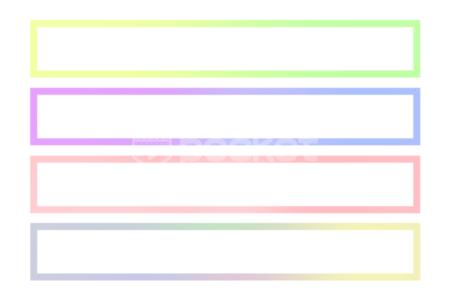 グラデーションアニメーションのテロップベース動画素材