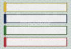 和風 巻き物テロップベース(4色セット)無料動画素材ビデオポケット