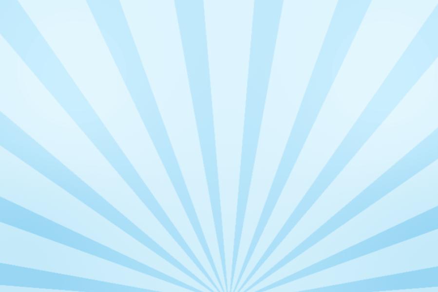 放射状アニメーション背景素材(パステル青色)ループ