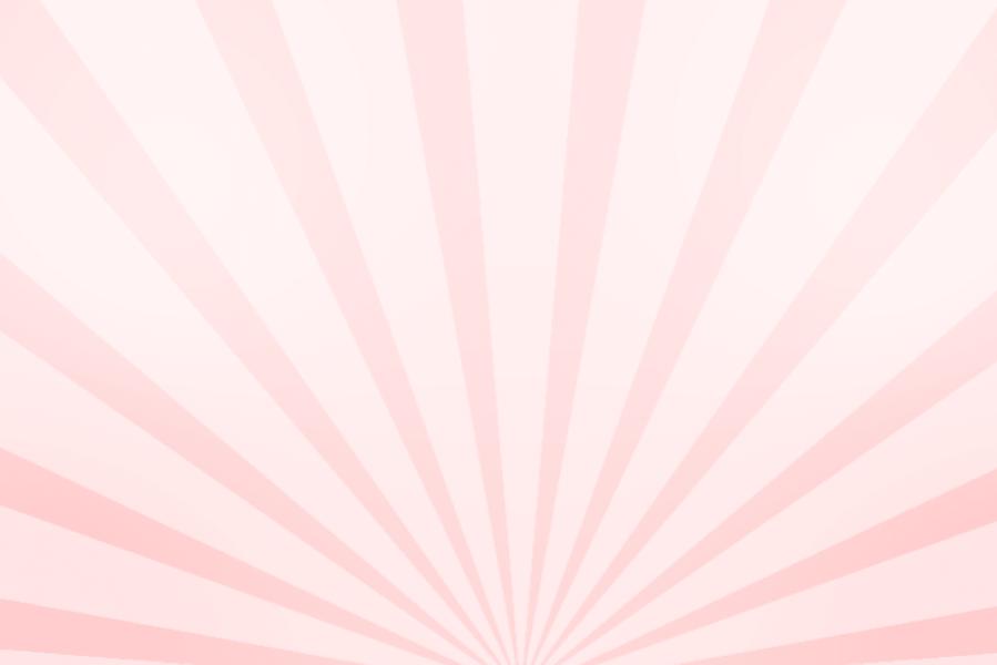 放射状アニメーション背景素材(パステルピンク)ループ
