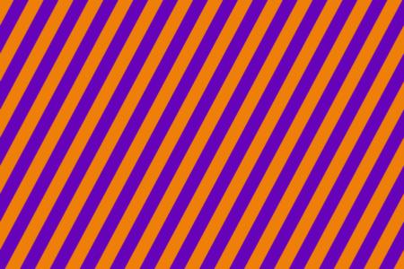 ハロウィンカラー ストライプ背景 無料動画素材 紫×オレンジ