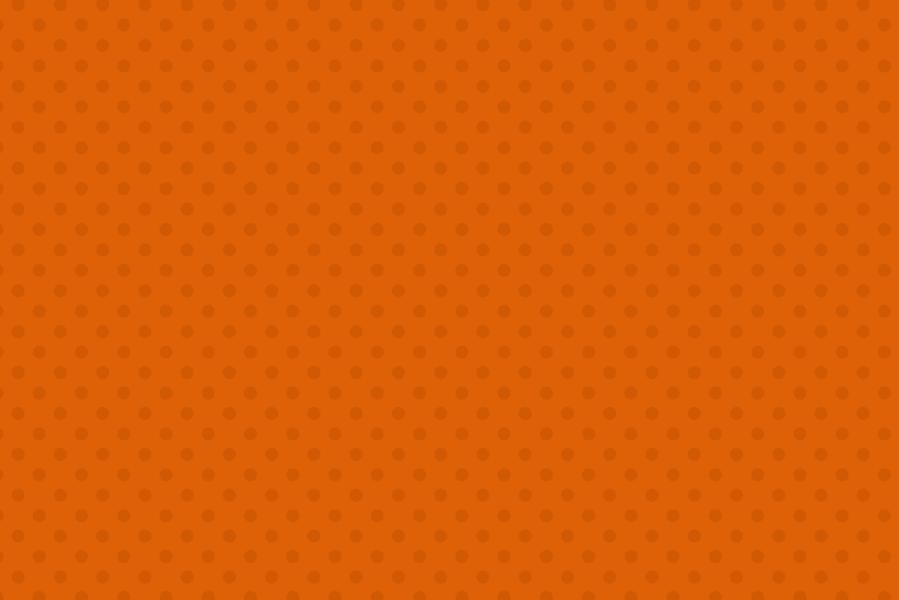 ハロウィン用の動画素材 オレンジのドット背景