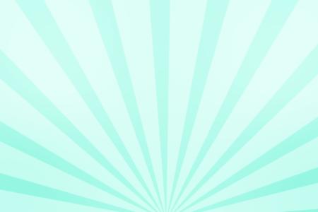 放射状アニメーション背景 パステルターコイズ