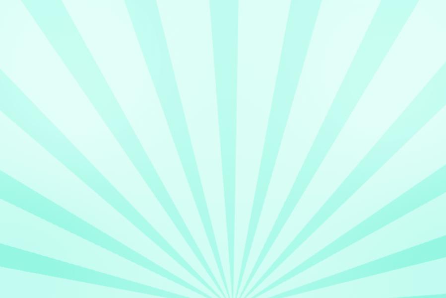 放射状アニメーション背景素材(ターコイズ)ループ