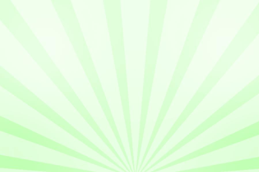 放射状アニメーション背景素材(パステル緑色)ループ