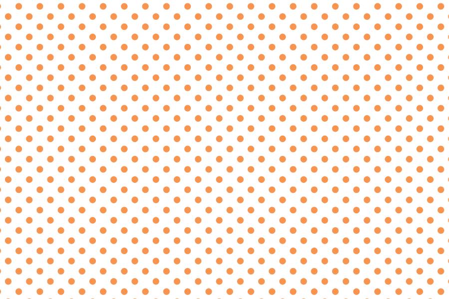 オレンジのドット背景 ハロウィン用の動画素材