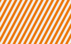 ハロウィンカラー ストライプ背景 無料動画素材 白×オレンジ