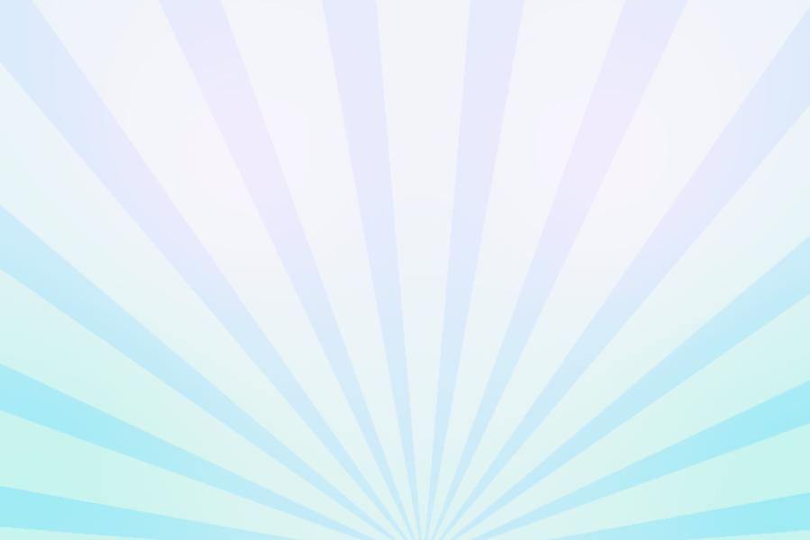 放射状デザイン背景素材(パステルカラー3色)ループ