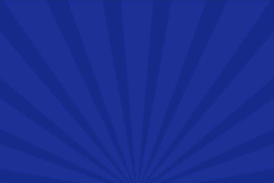 放射状アニメーション背景素材(青)ループ