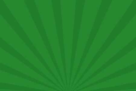 放射状アニメーション背景素材(グリーン)ループ可能