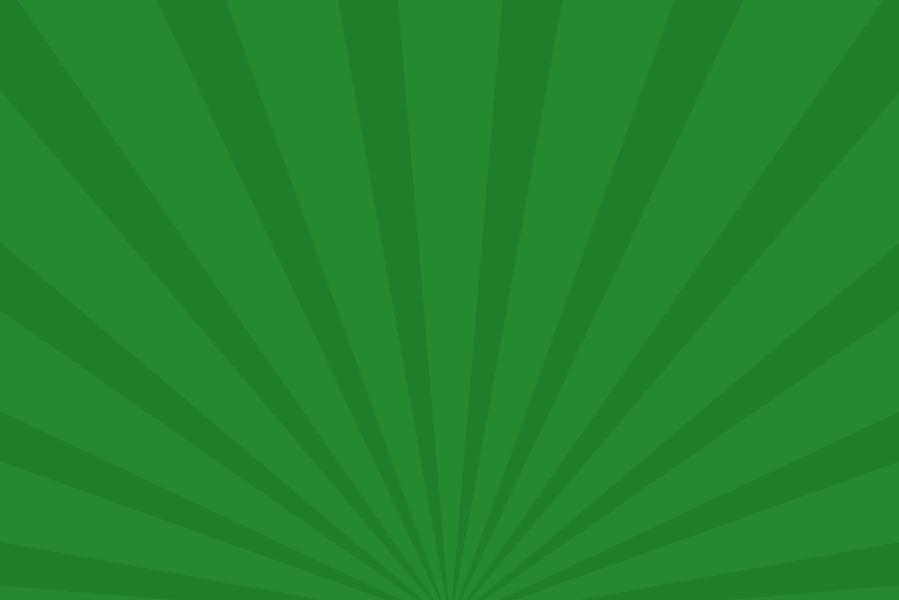 放射状アニメーション背景素材(緑)ループ