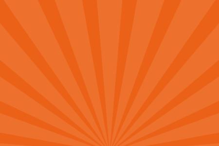 放射状アニメーション背景素材(オレンジ)ループ可能