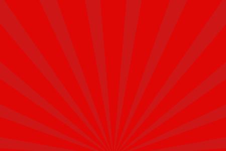 放射状アニメーション背景素材(レッド)ループ可能