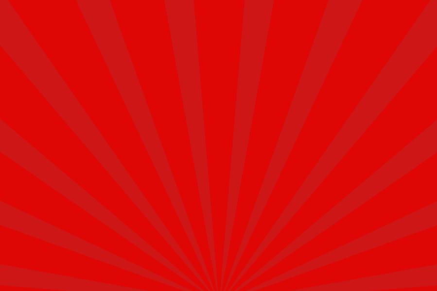 放射状アニメーション背景素材(赤)ループ