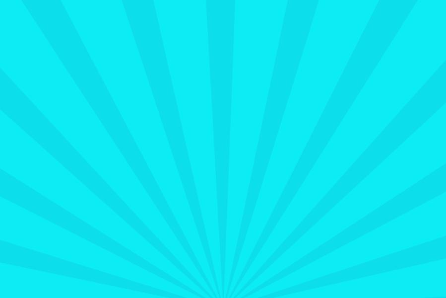 放射状アニメーション背景素材(水色)ループ