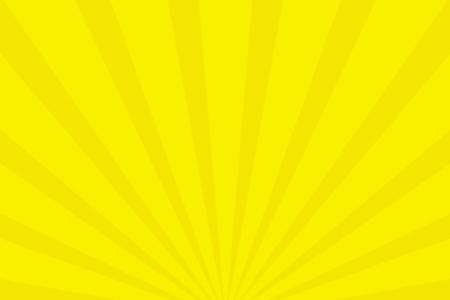 放射状アニメーション背景素材(レモンイエロー)ループ可能