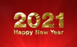 2021年ハッピーニューイヤー無料動画素材のビデオポケット